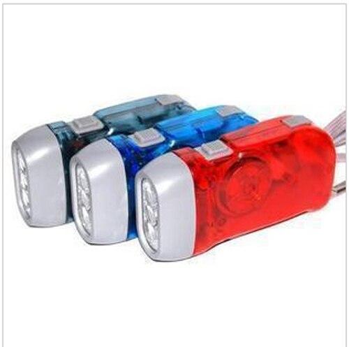Новый подарок аптечка рука самостоятельно генерирующая фонарик светодиодный фонарик Ручной пресс самостоятельно генерирующая фонарик