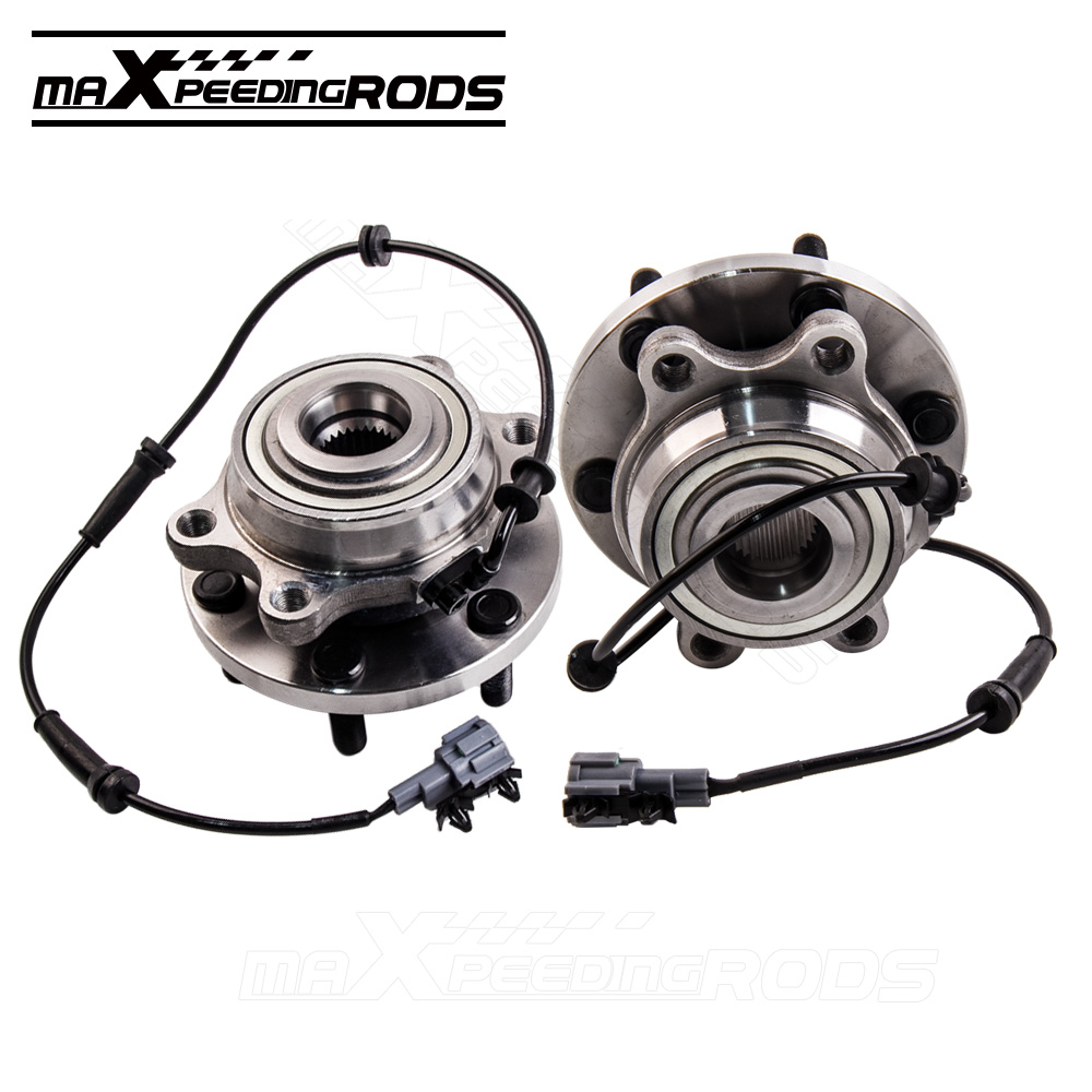 For Nissan Pathfinder Navara R51 Front Wheel Bearing Hub D40 D22 YD25 05-12 40202-ZP90A 4WD D22 D40 ABS YD25 VQ40 SPANISH 05-12