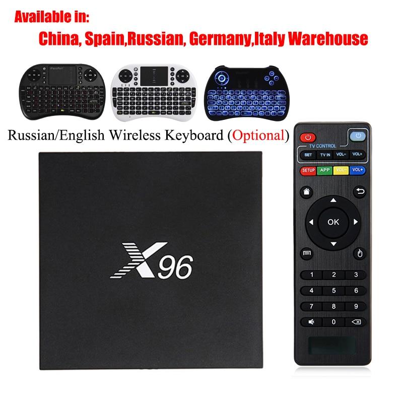 X96 Android 6.0 TV Box Amlogic S905X Max 2 gb RAM 16 gb ROM Quad Core WIFI HDMI 4 karat * 2 karat HD Smart Set-Top-BOX Media Player PK X96mini