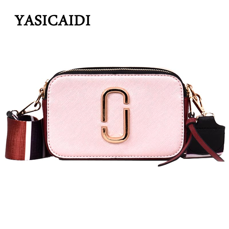 Summer Small Bag Girl Woman Luxury Handbags Women Bags Designer 2018 New Korean Style Camera Shoulder Bags Brand Messenger Bag