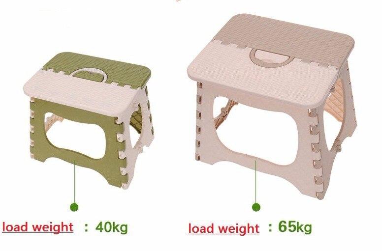 Sedia pieghevole sgabello di alta qualità per bambini con spessore