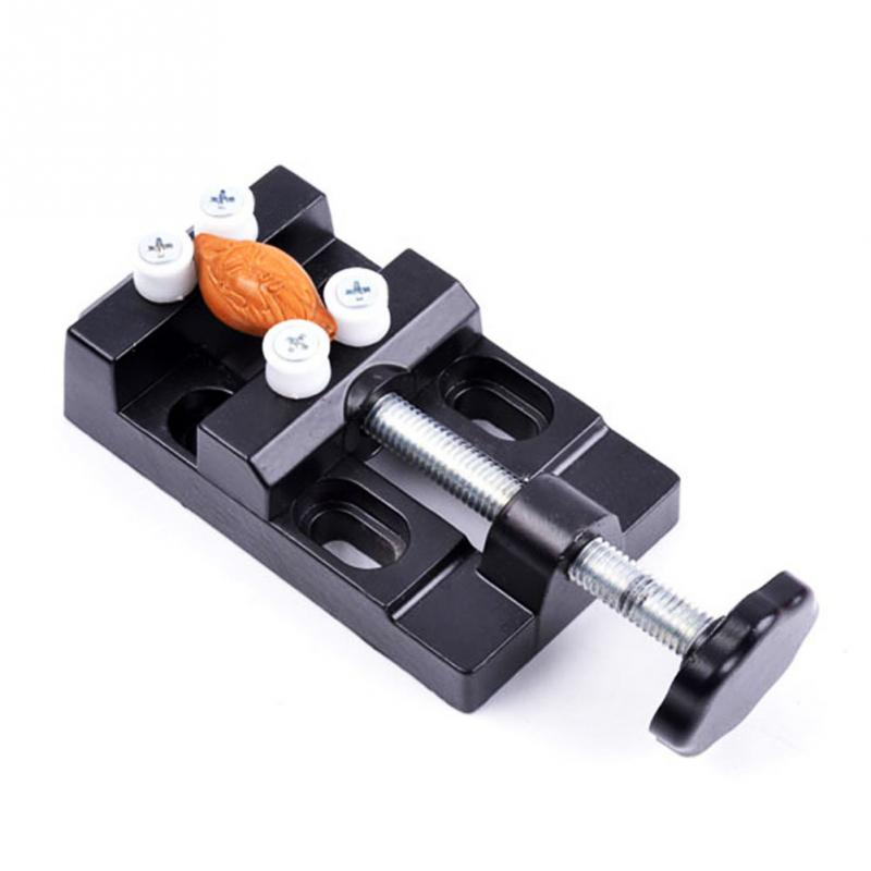 Portable Handheld use Mini Carving Bench Clamp Micro Hand Carving Clip Tool Suitable for Flat Patterns Text,etc high quality vise clamp table bench vice for jewelry grinding drilling diy carving tool carving clip flat