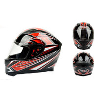 Całą Twarz Kask Motocyklowy ABS Shell DOT ECE Zatwierdzony GXT 398 retro kaski moto casco z ciepły szalik dla kobiet mężczyźni