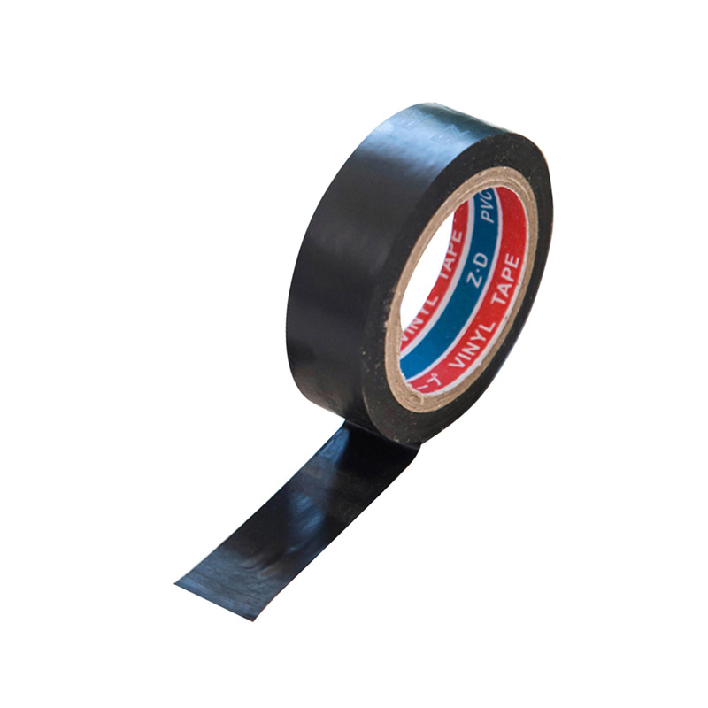 Black Electric Wire Insulation Transformer Self-Adhesive Tape Flame Retardant Tape Electrical PVC Waterproof Duct Plastic Tape