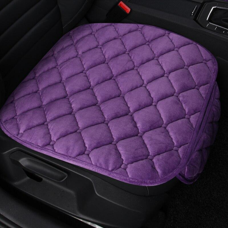 Faux piel asiento cojín, cojines auto del asiento, no diapositiva cojín del asiento de coche almohadillas, accesorios de coche asiento cubre para toyota camry 2018hot