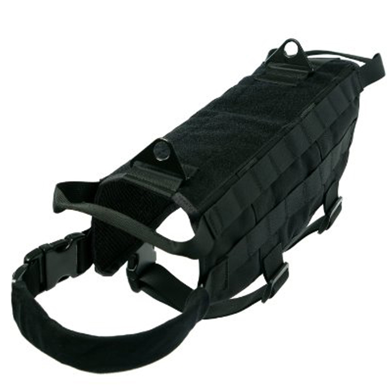 Yisibo Military Tactical Dog Training Vest Police Molle Dog Compact Vest font b Harness b font