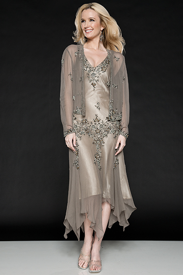 Chiffon Fashion Mother Of The Bride Dresses Tea length 2016 Formal Evening Groom Mother Wedding Party Dress Outfits