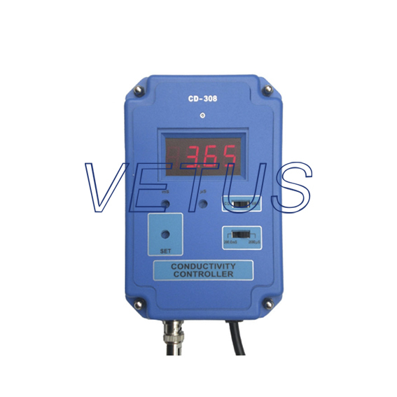 Digital Conductivity Controller Meter Tester CD-308 199 9us 1 999ms 19 99ms 2%fs 1d portable conductivity meter cd 4301