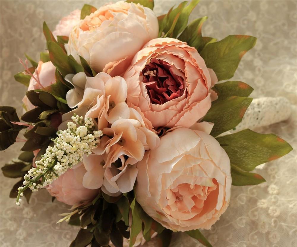Artificial flower Wedding Bouquet Bouquet Bridal Bouquet Bridesmaid Wedding Decoration Event Party Supplies buques de noivas (3)