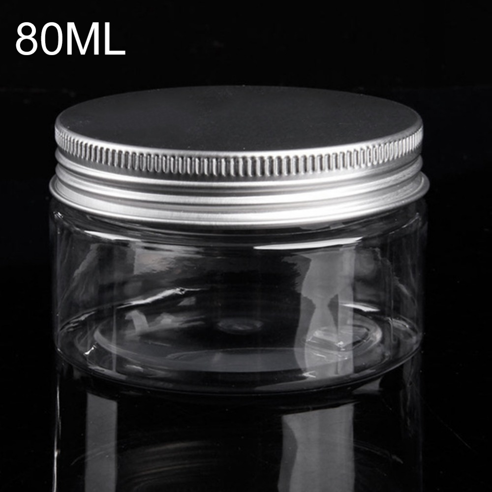 80ml Cosmetic Jars Lids BB Cream Loose Powder Container Lipstick Empty Tube Cosmetics Packaging Makeup Box Plastic Bottles