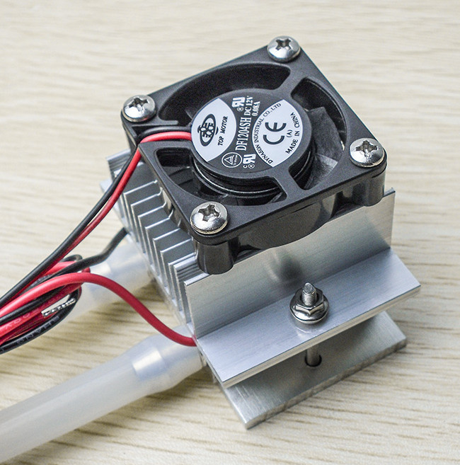 X150 for MCU thermoelectric cooler water cooling system Mini air conditioning cold wind acquisition system+C1206