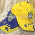 Brasil Bandera Del Estilo Gorra de Béisbol Samba Amor moda sombrero 2 color 1 unids