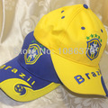 Estilo brasil Bandeira Samba Amor moda chapéu Boné de Beisebol 2 cores 1 pcs
