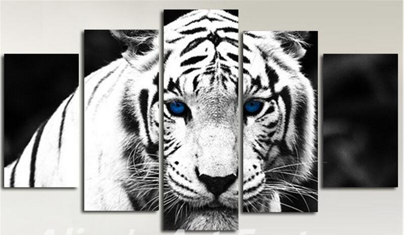Online Buy Wholesale Tiger Canvas Painting From China