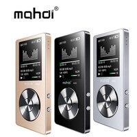 마흐디 M220 금속 MP3 플레이어 휴대용 디지털 오디오 플레이어 1.8 인치 화면 FM 전자 책 시계 데이터 음악 플레이어 스피커 TF 카드