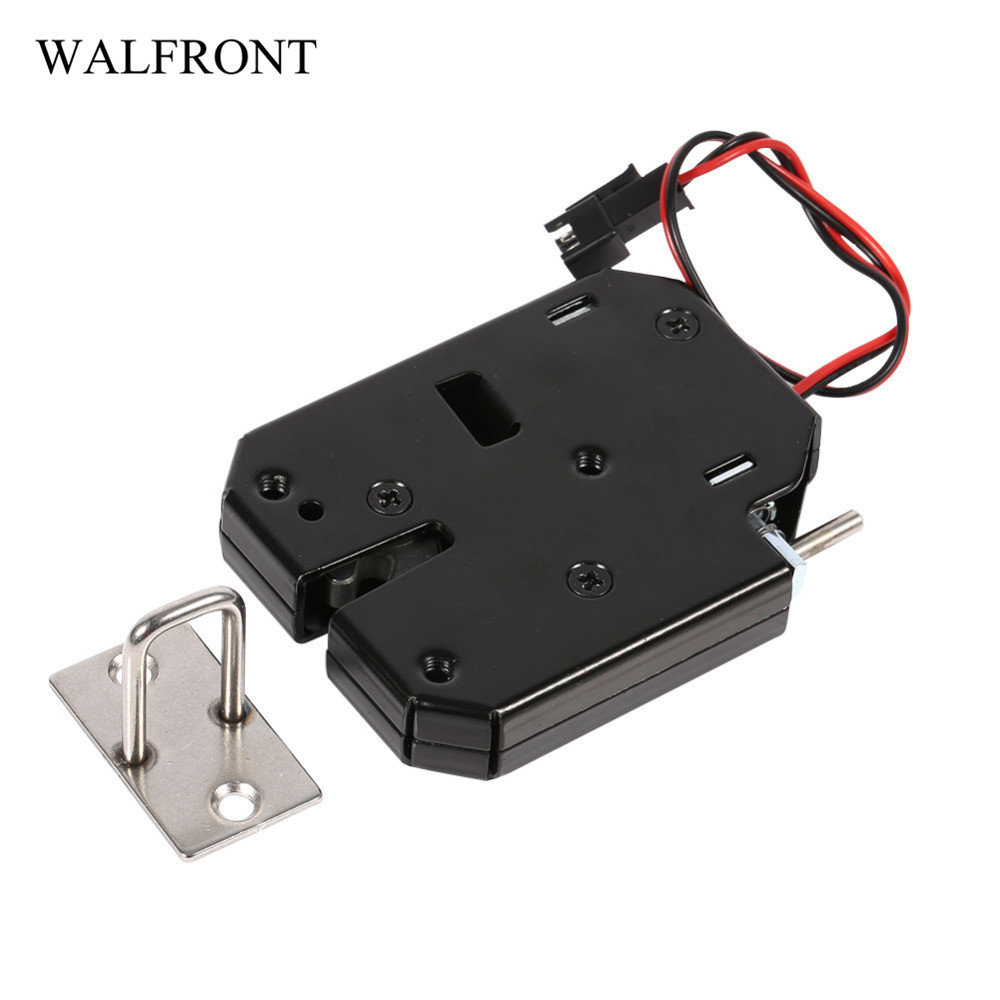 DC 5V//1A Electric Magnetic Solenoid Lock for Doors Gates Cabinet