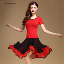 Competition Dance Costume Latin Dance Dress Woman Competition Top&Skirt Latin Dresses For Sale Miao Clothing Ropa Baile Latino