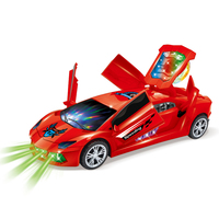 Hot Sale Funny 3D Flashing Led Light Music Car With Sound Electric Toy Cars Kids Toy Childrens Gift Diecast Toy Vehicles