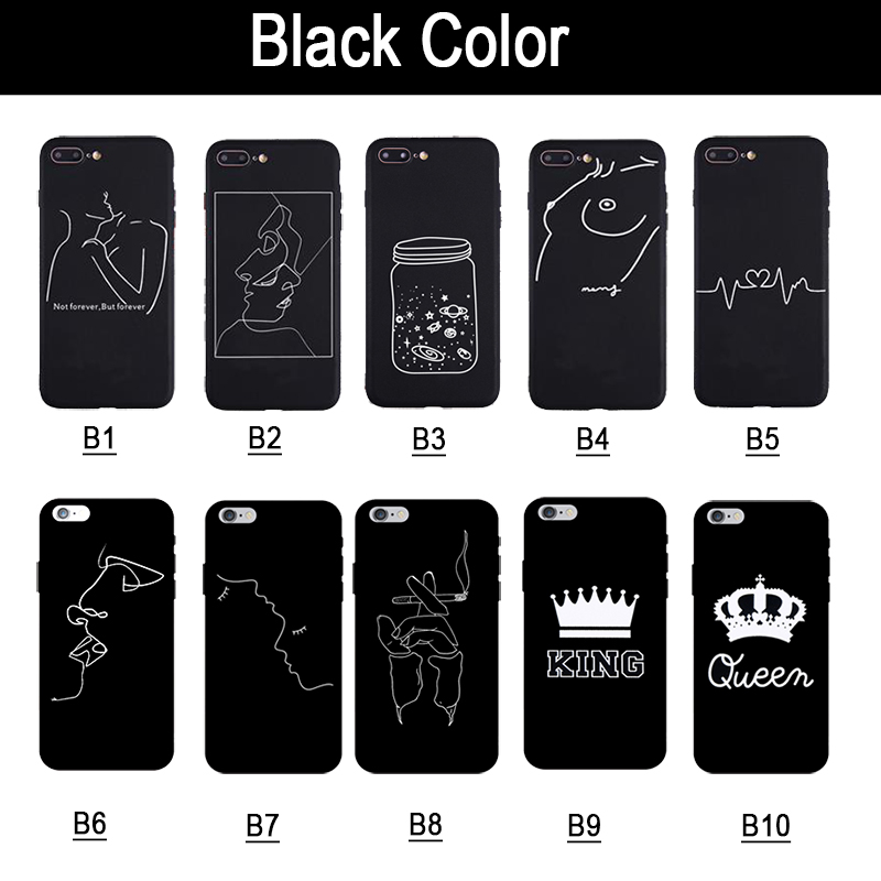 19e23bc9f33 3D Relief Phone Case For iPhone 6s 7 8 Plus XR XS Max 5 SE Fashion ...