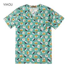 Медицинская одежда, униформа для ухода за собакой из мультфильма, медицинская одежда, стоматологическая клиника, больничная рабочая одежда, хирургический костюм, хирургический Топ