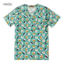 Медицинская одежда, униформа для ухода за собакой из мультфильма, медицинская одежда, стоматологическая клиника, больничная рабочая одежда...