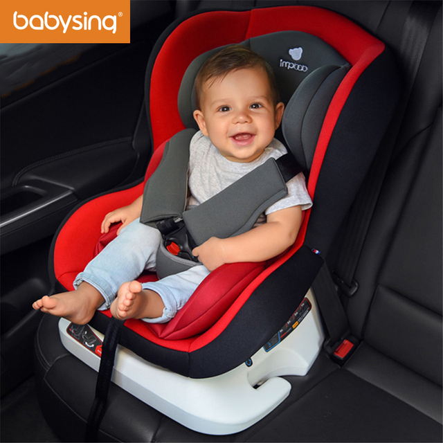 Babysing Baby Car Seat Convertible Isofix Five Point Harness Infant Toddler Child Safety Seart Protector
