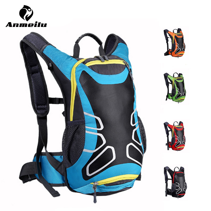 ANMEILU Brand Outdoor Bicycle Hiking Backpacks Waterproof MTB Road Mountain Bike Water Bags Climbing Cycling Backpack Rain Cover new 15l cycling bicycle water bag road mountain bike sport running outdoor hiking backpacks