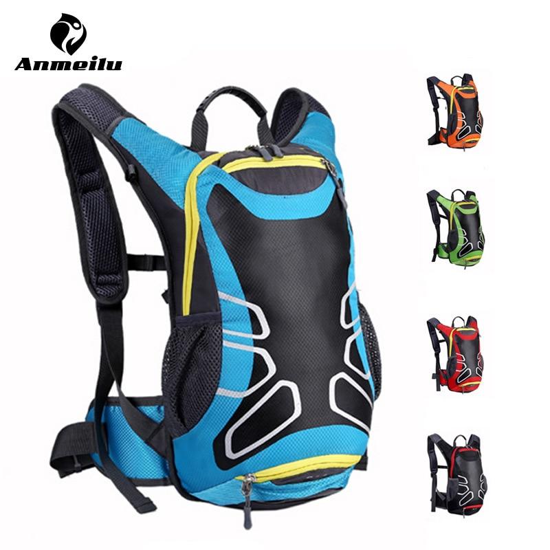 ANMEILU Brand Outdoor Bicycle Hiking Backpacks Waterproof MTB Road Mountain <font><b>Bike</b></font> Water Bags Climbing Cycling Backpack Rain Cover