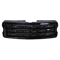 For Landrover Range Rover Vogue 2013 2017 Gloss Black Main Body Kit Car Front Grille Trim Replacement Parts Free Shipping
