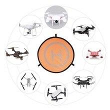 Almofada de pouso dobrável para drone dji mavic pro, platina portátil de 55cm para dji mavic air pro phantom 4 pro acessórios fpv racing