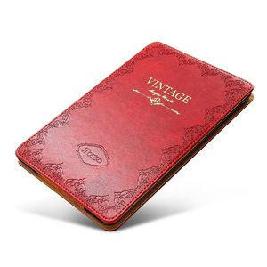 Image 5 - for iPad Air 1 Air 2 9.7 5th 2017 6th 2018 Case Luxury Vintage PU Leather Smart Cover Fashion Business Stand Holder Book