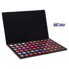Pro Professional 66 Color Lip Gloss Gorgeous Lipstick Makeup Make up Cosmetic Palette Tool Set