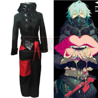DMMD Cosplay Dramatical Murder black Seragaki Aoba cosplay costume customize