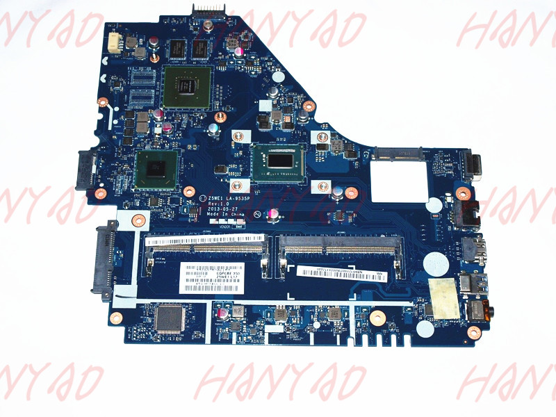 NB.MES11.003 For Acer E1-570 Laptop <font><b>Motherboard</b></font> Z5WE1 <font><b>LA</b></font>-<font><b>9535P</b></font> GT740M 2GB i5 cpu 100% Tested image