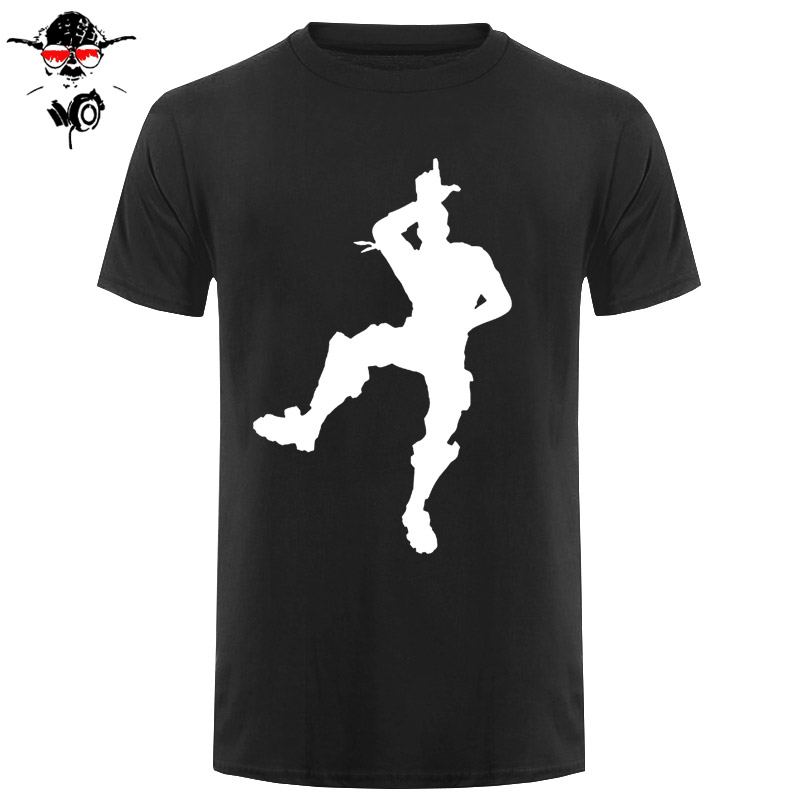 Celebration Fortni Battle Royale Men's White T-Shirt Tees Clothing 2018 Men's T Shirt Men Fashion Tshirts Casual Free Shipping