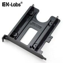 En-Labs PCIe/PCI слот 2,5 «HDD/SSD Монтажный кронштейн-2,5» HDD в PCI слот задняя панель жесткие переходники-черный