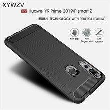 Dla Huawei P inteligentny Z przypadku zbroja ochronna miękki futerał na telefon TPU etui na Huawei P Smart Z tylna pokrywa dla Huawei P Smart Z