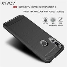 Para Huawei P Z Inteligente Caso Armadura Protetora TPU Macio Caso de Telefone Silicone Para Huawei P Z Inteligente Tampa Traseira para Huawei P Z Inteligente