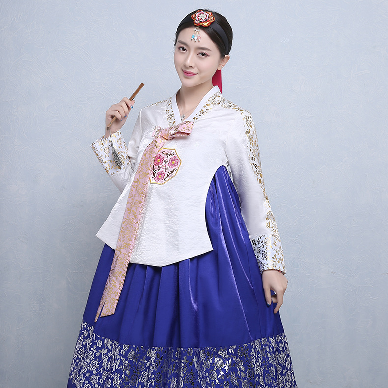 Korean Traditional Wedding Hanbok For Women Palace Korean Hanbok Dress Ethnic Minority Dance Ccostume Oriantal Clothing Outfit 9