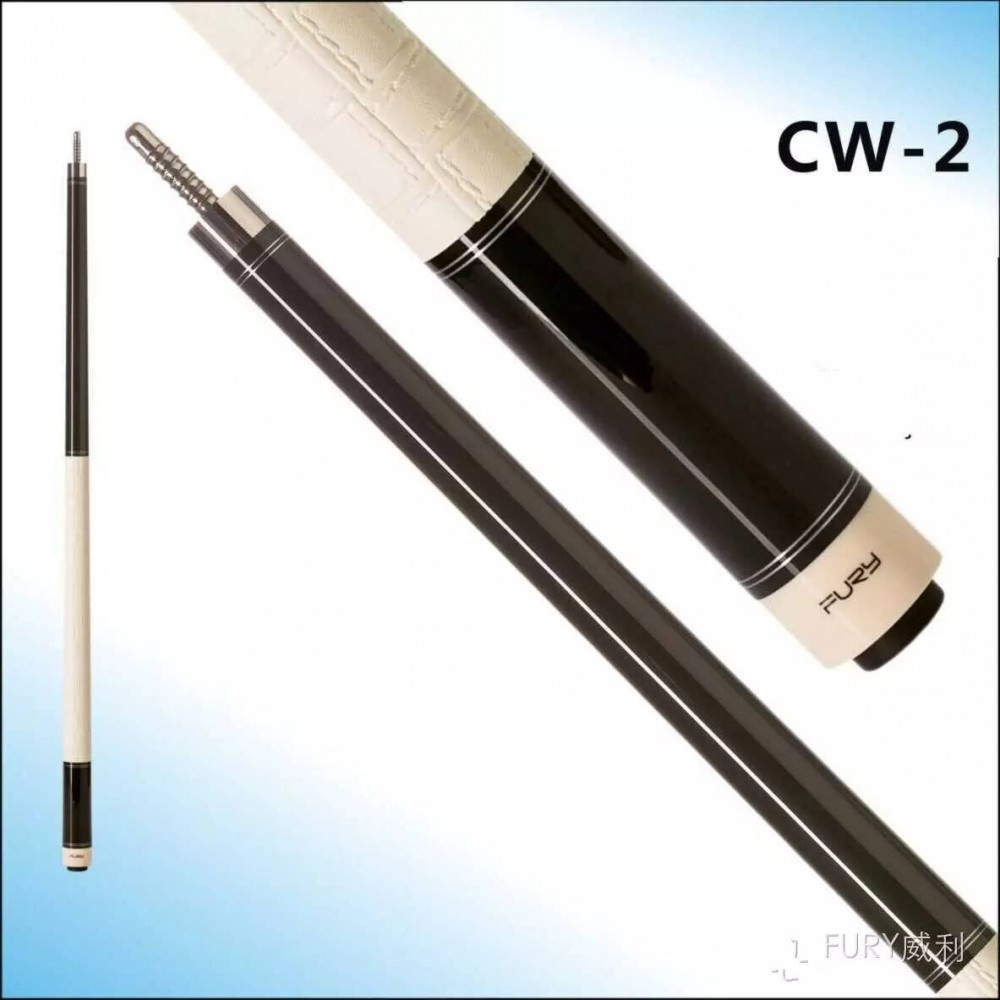 147 cm FURY Pool cue CW Series billiards pool cue maple pool billiard PU leather Wrap +tiger tip CW-2 new 6 holes pu leather billiards pool cues case billiard accessories china 85cm length