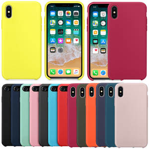Have LOGO Silicone Official Case For iPhone 7 5 box