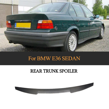 For 3 Series Rear Trunk Spoiler Wing for BMW 3 Series E36 Sedan 1991 - 1998 Carbon Fiber Rear Wing Boot Lid
