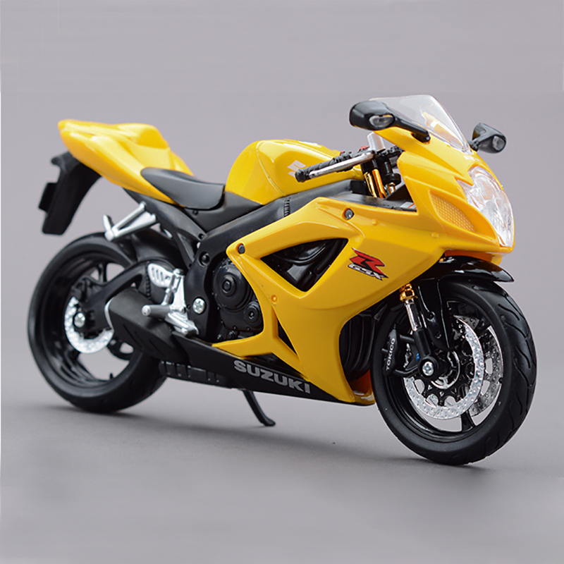 motorcycle scale models r600 toy bike diecast miniature maisto metal race motor toys racing collection gsx vehicles szk