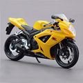 SZK GSX R600 motorcycle model 1:12 scale metal diecast models motor bike miniature race Toy For Gift Collection