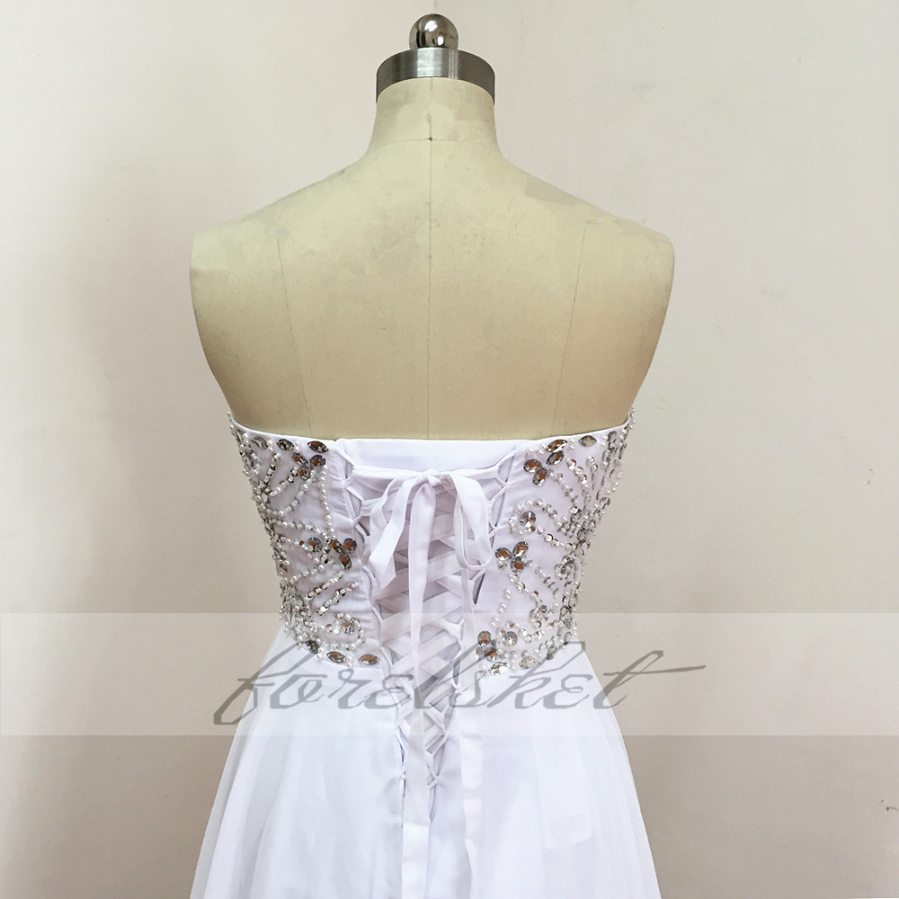 Sexy Chiffon A Line Beach Wedding Dresses Vintage Boho Cheap Bridal Gowns Vestidos De Novia Robe De Mariage Bridal Gown in stock 25
