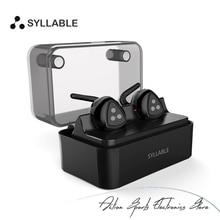 Syllable d900 mini wireless bluetooth v4.1 auriculares auriculares bluetooth estéreo de mini auricular con estación de carga para iphone 7
