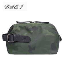 BAQI Brand Men Handbags Clutch Bag Wallet Oxford Cloth Waterproof Camouflage 2019 Fashion Designer Ipad Phone Casual