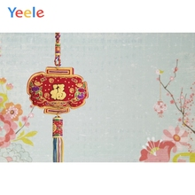 Yeele New Year Chinese Knot Plum Blossom Customized Photography Backdrops Personalized Photographic Backgrounds For Photo Studio