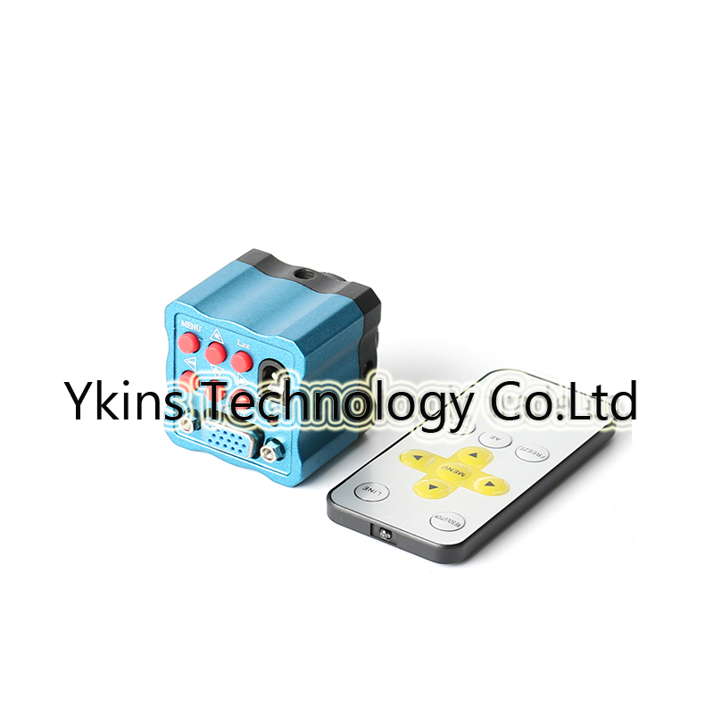 Mini HD High Speed Industrial Microscope Camera 1/3 Inch Sensor with Remote Control 2MP 10x Zoom VGA Output