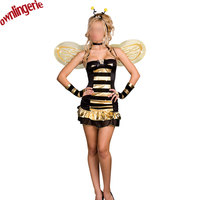 Sexy women bee Adult maid costume for Cosplay anime role play clothescosplay halloween party costume w1285